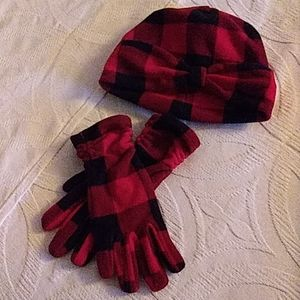 Land's End Hat/Glove Set